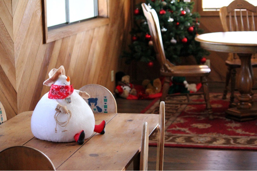 christmas community room