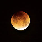 Super Moon Partial Eclipse